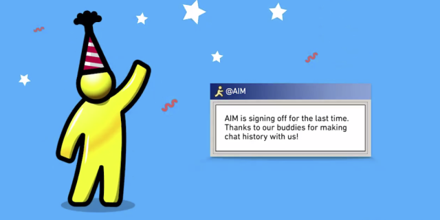 After 20 years, AIM will officially shutdown in December