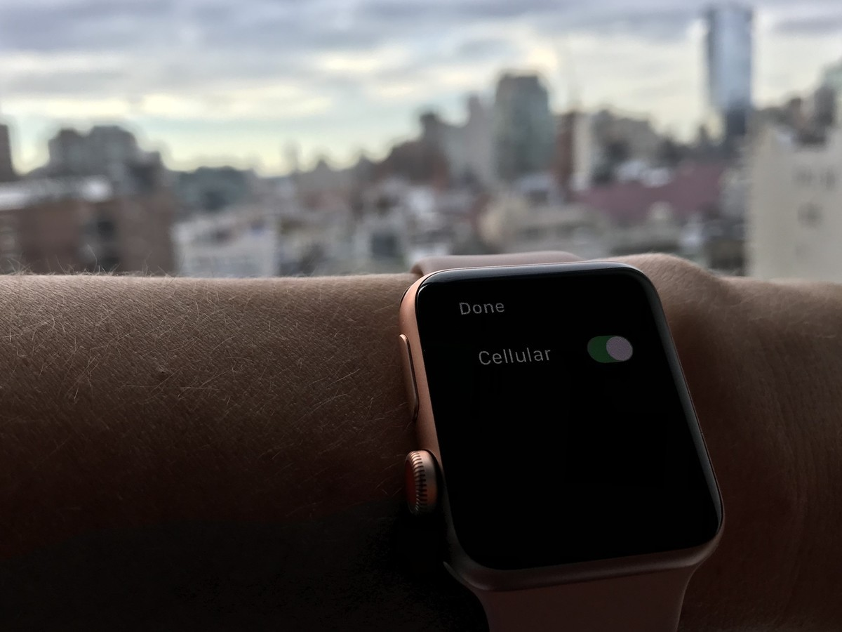 How to set up LTE and cellular on Apple Watch Series 3