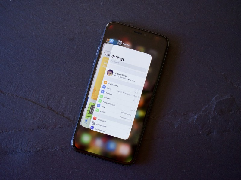 How to use multitasking and fast app switching on iPhone X
